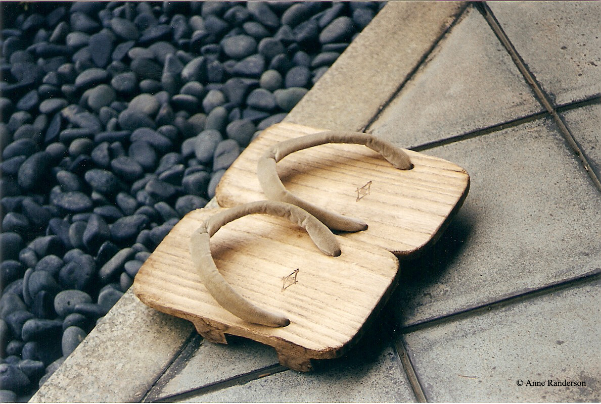 Japanese clogs at zen garden 1 2 Award Winning SEO, Design and Digital Marketing from Lewes, Sussex